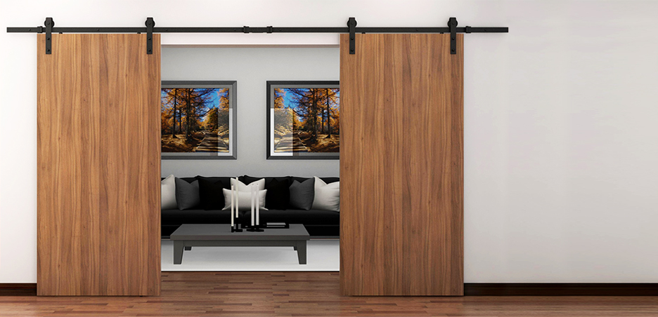 Cox Usa Steel Barn Door